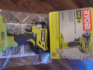 18v ryobi brushless impact wrench for Sale in Oklahoma City, OK