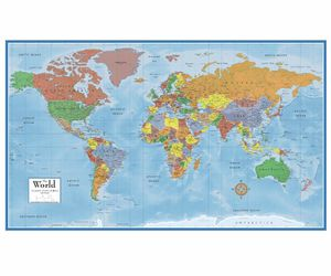 Wall Clock World Map🌎 Home Decor Travel for Sale in San Diego, CA ...