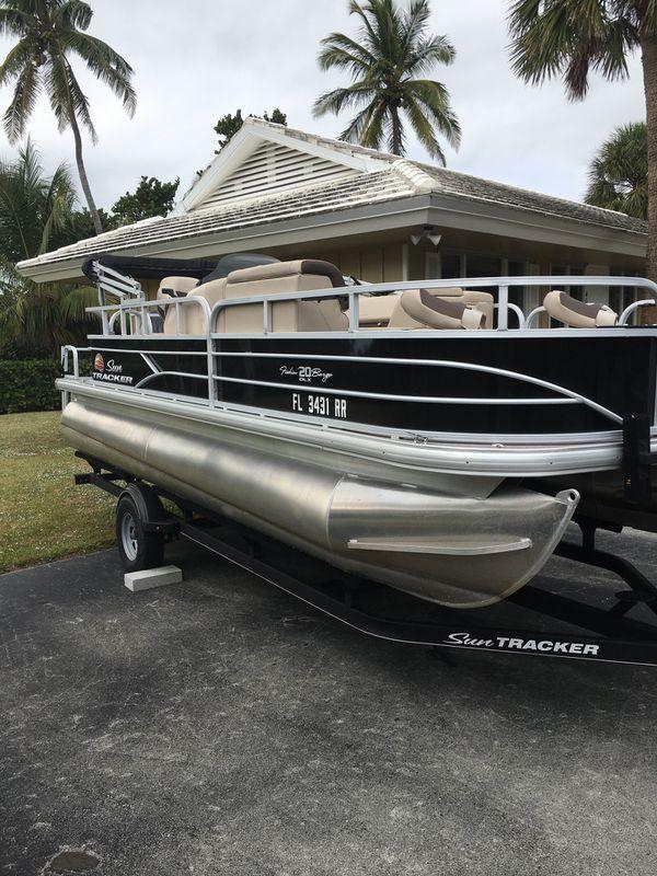 Fishing Pontoon Boats For Sale >> Pontoon Boat For Sale In Naples Fl Offerup