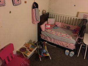 Girls Newborn Toddler bedroom decor set for Sale in San Diego, CA