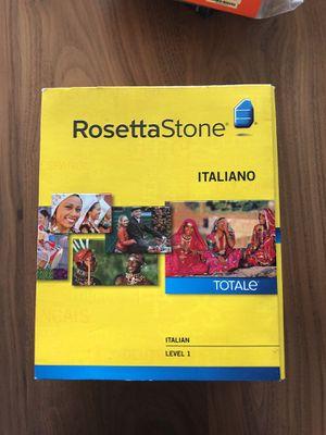Rosetta Stone Italian, Level 1 for Sale in Chicago, IL