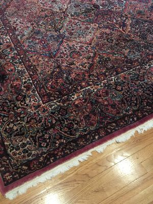 Kirman worsted wool rug 8.8x12' - $1080 for Sale in Potomac, MD