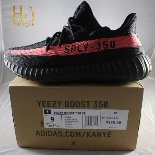 0204ed04b Addidas Yeezy 350 V2 Core Black Red for Sale in Palo Alto