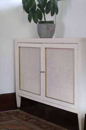 Designer white cabinet for Sale in Salt Lake City, UT