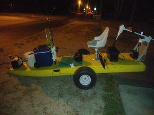 Custom built flatstalker for skinny water fishing for Sale in Edgewater, FL