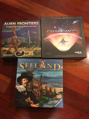 3 Board Games for Sale in Washington, DC