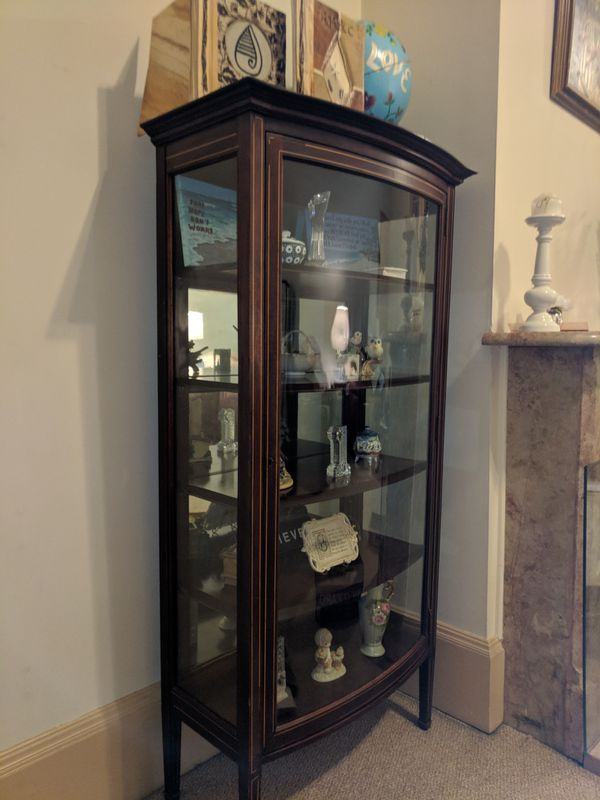 - Antique Curio Cabinet (Furniture) In Rahway, NJ - OfferUp