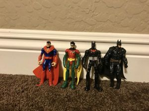 "DC Action Figures Lot (4) 3.75"" for Sale in Phoenix, AZ"