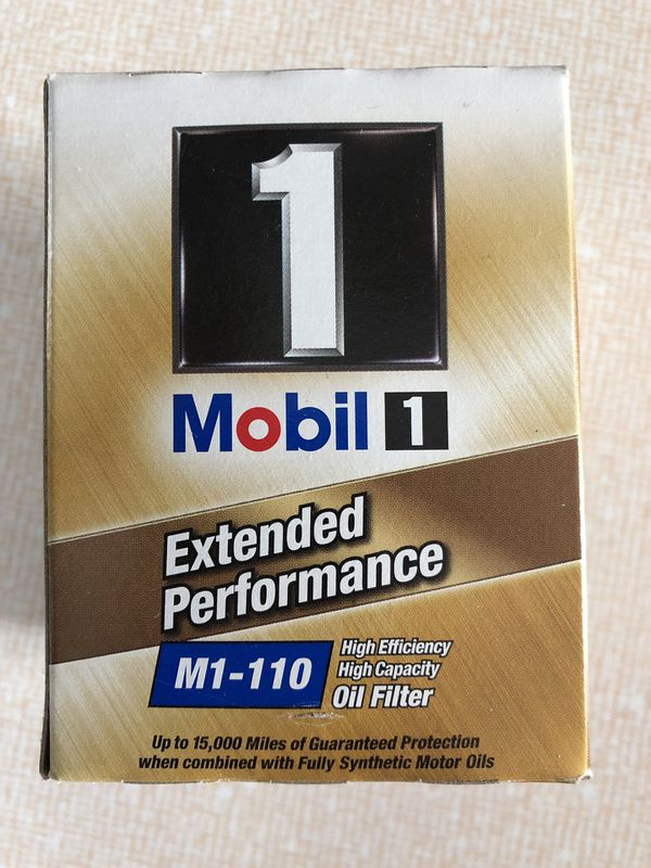 mobil 1 m1-110 extended performance oil filter - never used or ...