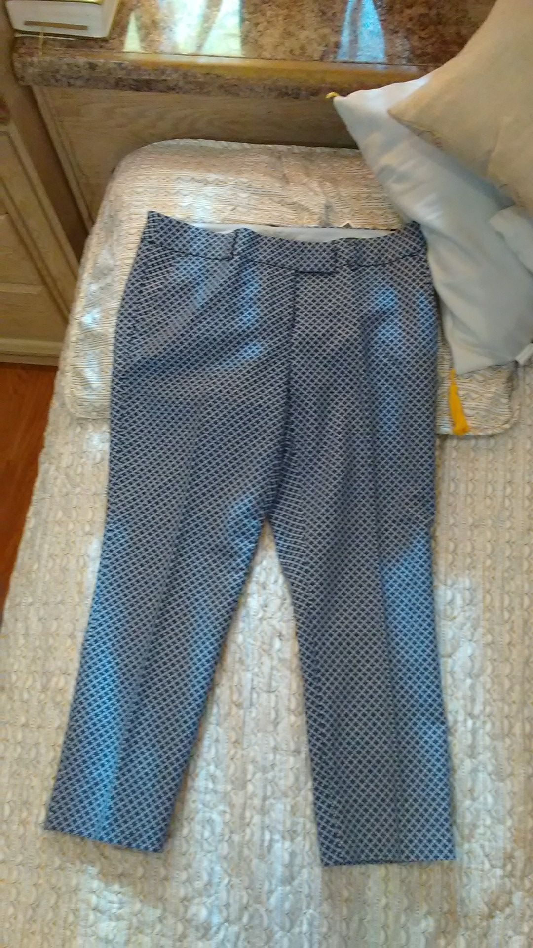 Lily white shirt and dalia pants