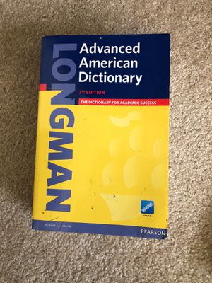 Longman advances American dictionary 3rd edition for Sale in Irvine, CA