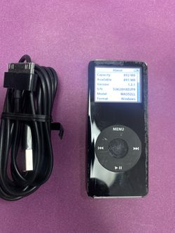 Apple iPod A1137 1GB Mp3 music Player Thumbnail
