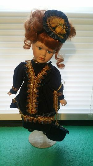 Antique Doll..with stand for Sale in Kingston, MO