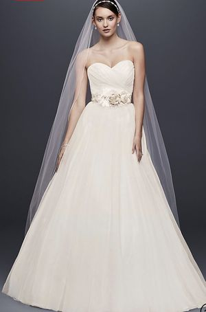 Brand New Strapless Sweetheart Tulle Wedding Dress Size 4 For In Murfreesboro Tn