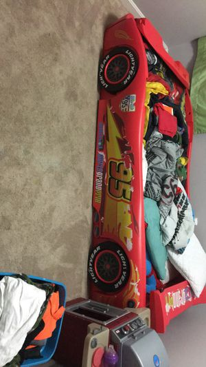 Lightning McQueen twin bed frame ONLY for Sale in Manassas, VA