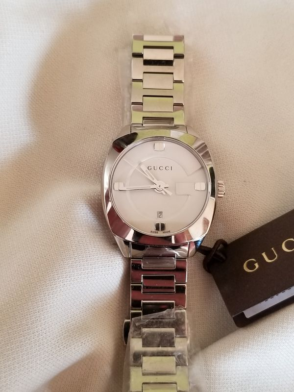 a49c698c607 Gucci white face women s watch for Sale in Chino Hills