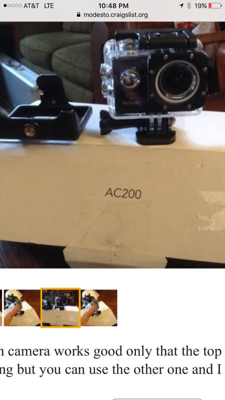 Victure AC200 Full HD action camera for Sale in Modesto, CA - OfferUp