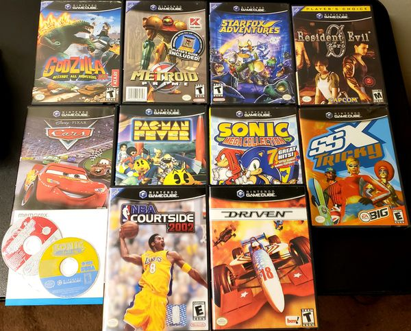 Nintendo Gamecube Games All Complete In Box For Sale In Houston Tx Offerup