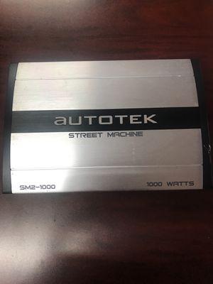 Amplifier autotek for Sale in Dallas, TX