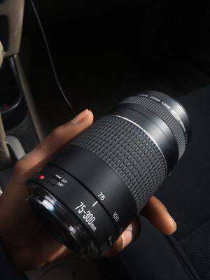 Canon camera lens for Sale in Raleigh, NC