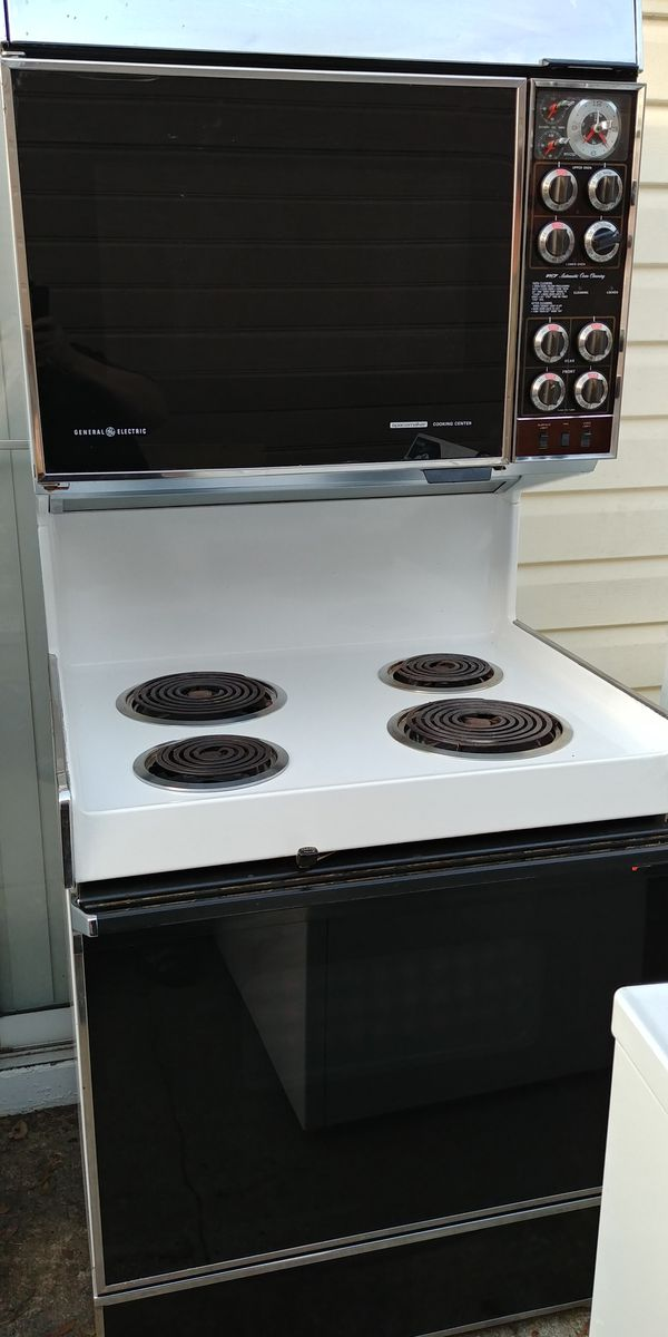 Vintage Electric Ge Double Oven Stove For Sale In Orlando