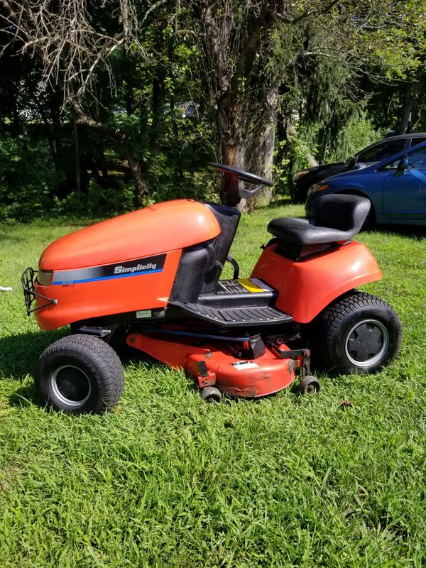 Simplicity riding lawnmower for Sale in Middletown, NJ - OfferUp