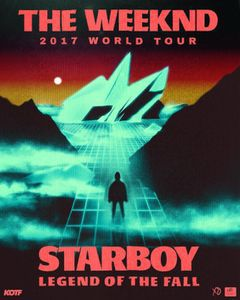 The Weeknd: Starboy Legend Of The Fall 2017 World Tour for Sale in Boston, MA