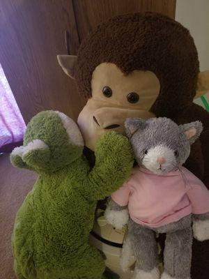 Fun stuffed animals! for Sale in Casselberry, FL