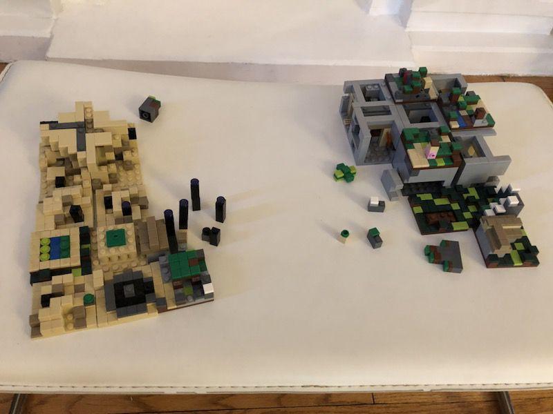 Minecraft LEGO (4sets)