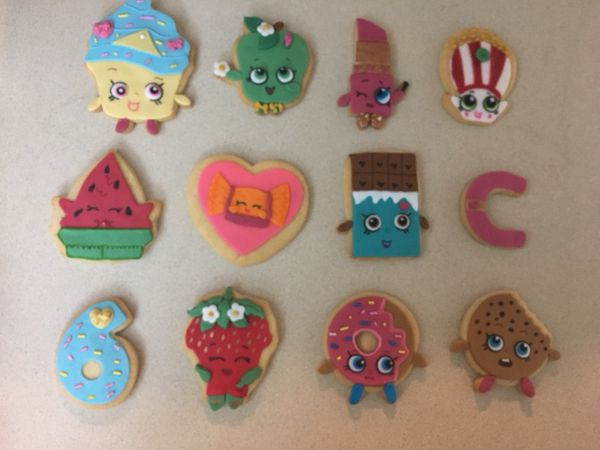 Shopkins Decorated Cookies For Sale In Miami Fl Offerup