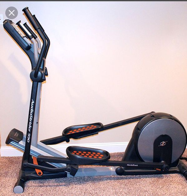 NordicTrack AudioStrider 990 Pro Elliptical For Sale In