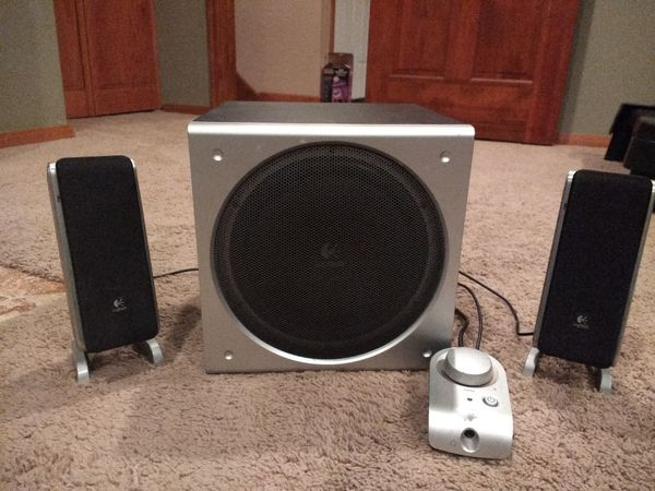 20e746e989a Logitech Z3 Speakers and subwoofer for Sale in Minneapolis, MN - OfferUp