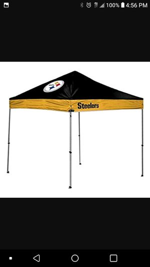Steelers canopy 10x10 for Sale in Boston, MA