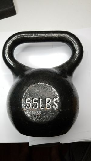 55 lbs Kettle bell for Sale in Baltimore, MD