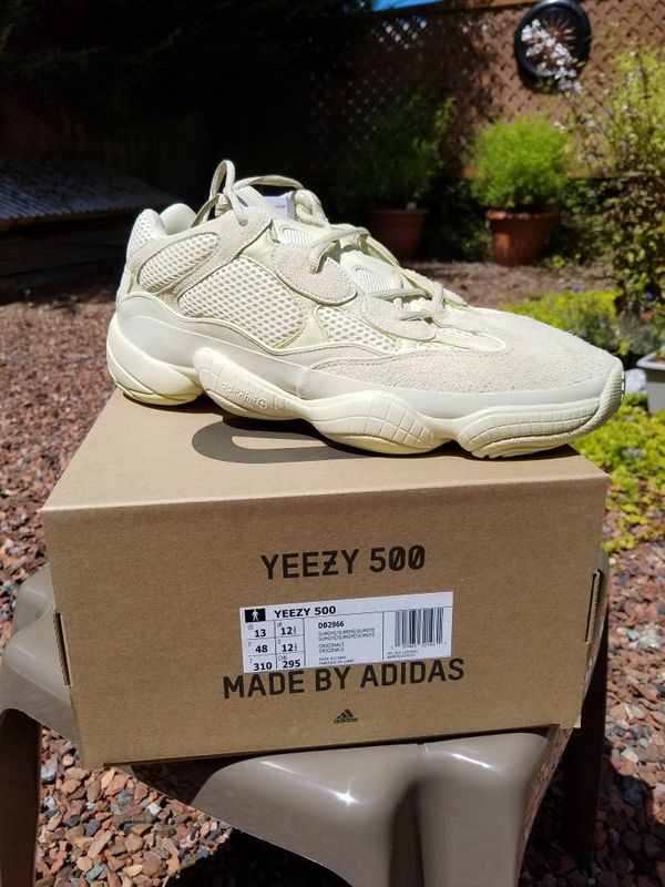 94d85e25843ad Yeezy 500 Super Moon Yellow for Sale in Edmonds