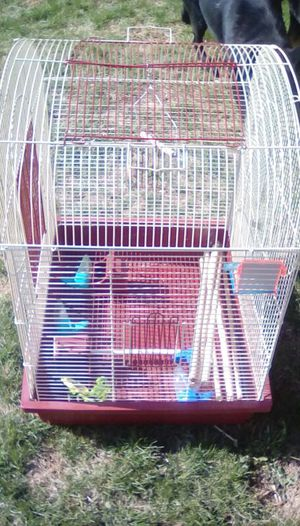 Big Beautiful bird cage. For parakeets, 2-3 together or one single large bird. Great condition. for Sale in Charles Town, WV