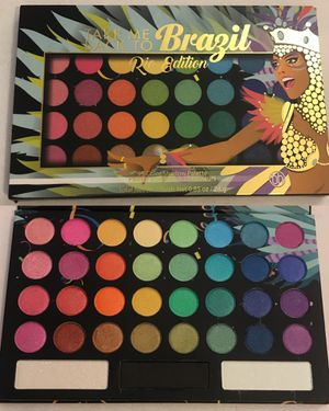 Photo New bhCosmetics Take Me Back To Brazil Rio Edition 35 Color Shadow Palette