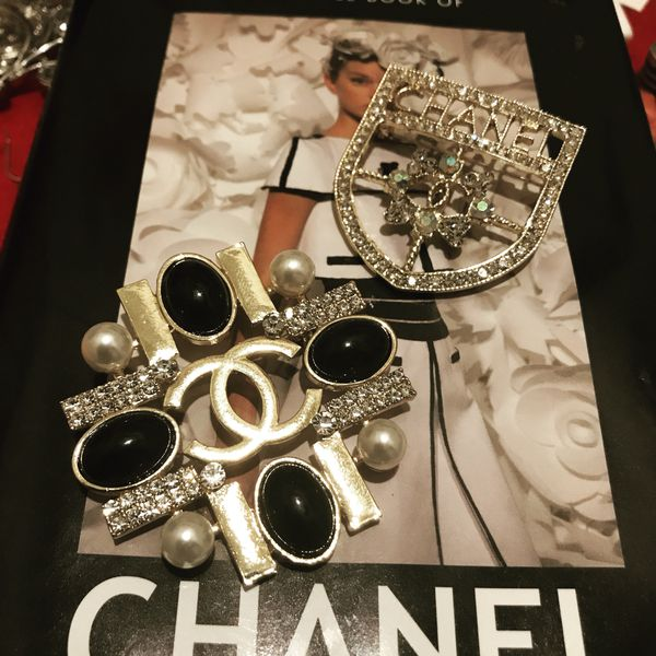 823d07e97b4 Chanel brooches for Sale in Stafford