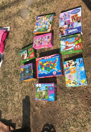 Kids puzzles for Sale in Downey, CA