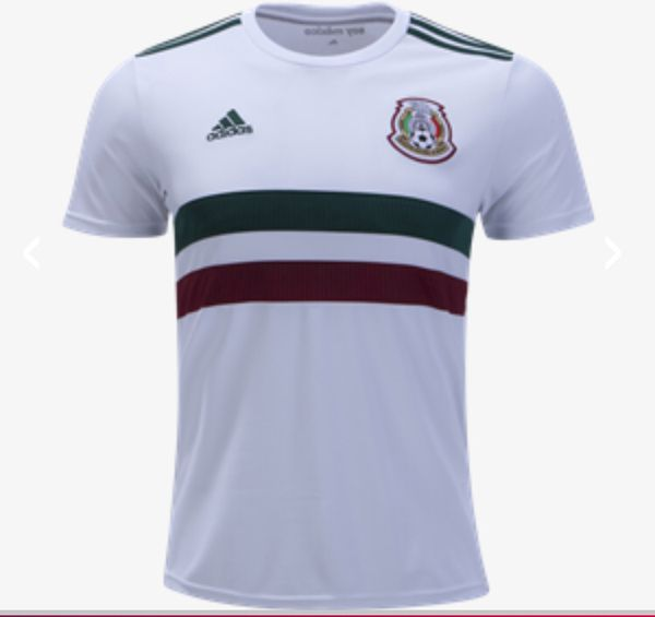 best service b6d25 3fad8 Men's Adidas mexico white jersey authentic for Sale in Walnut, CA - OfferUp