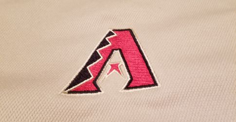 Used Arizona Diamondbacks Gold Antigua polo shirt, men's XL Thumbnail