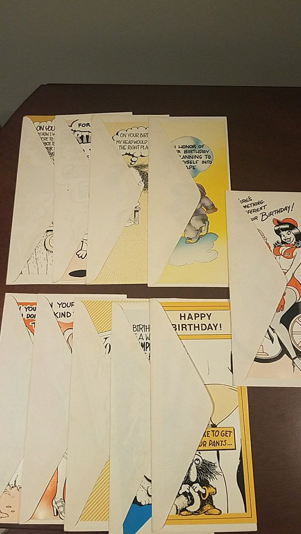 Vintage Xrated Birthday Cards Collectibles In York Pa Offerup