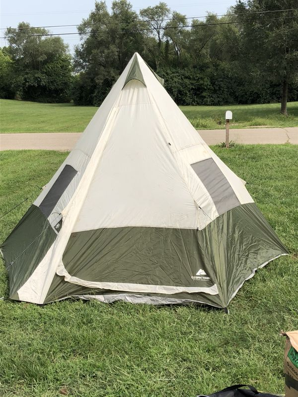 Ozark Trail 7 person Teepee Tent for Sale in Middletown, OH - OfferUp