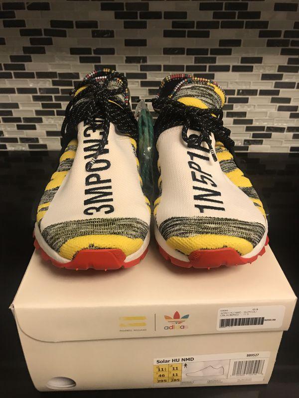 Nuove Adidas Uomini Pharrell Nmd Confezione Rossa Uomini Adidas & Donne Hu Solare. 439f87