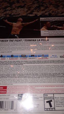 Ps4 Game UFC 2 Thumbnail