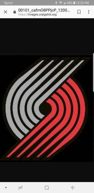 CLUB LEVEL Blazers vs Wizards, Mon 10/22 for Sale in Hillsboro, OR