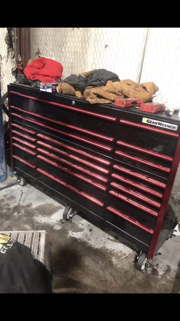 72 inch gear wrench toolbox for sale in mansfield, tx - offerup