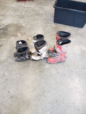 Photo Free Youth and children MX boots