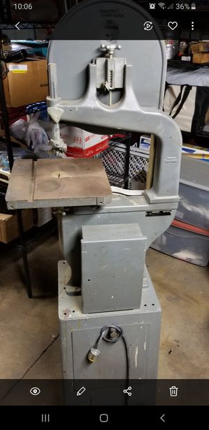 Photo Bandsaw Rockwell # 14