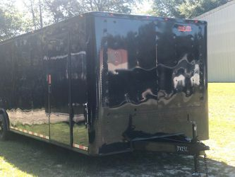 Enclosed Vnose Trailers Many Sizes In Stock Thumbnail